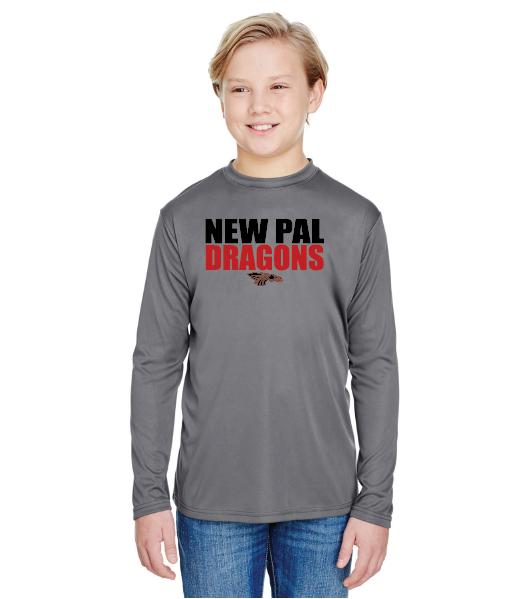 Youth Long Sleeve T-Shirt - New Pal Dragons