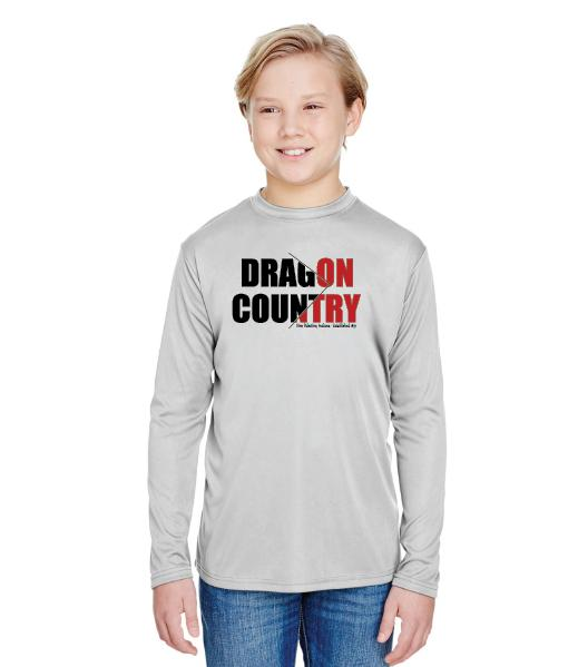 Youth Long Sleeve T-Shirt - Dragon Country Arrowed