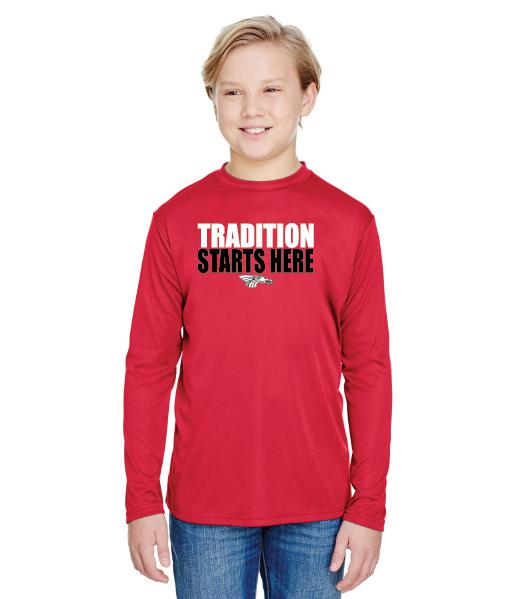 Youth Long Sleeve T-Shirt - Tradition Starts Here