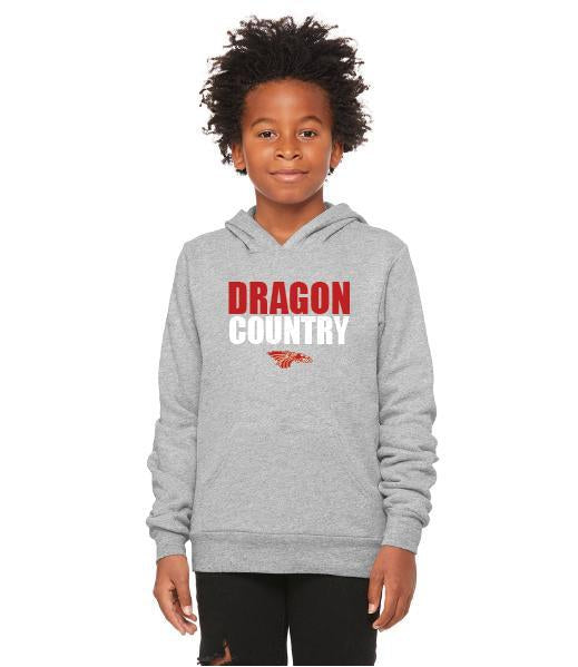Youth Unisex Sponge Fleece Hoodie - Dragon Country