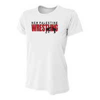 Womens Short Sleeve T-Shirt - Dragons Wrestling