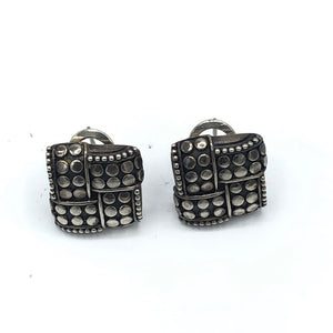 C John Hardy Square Earrings