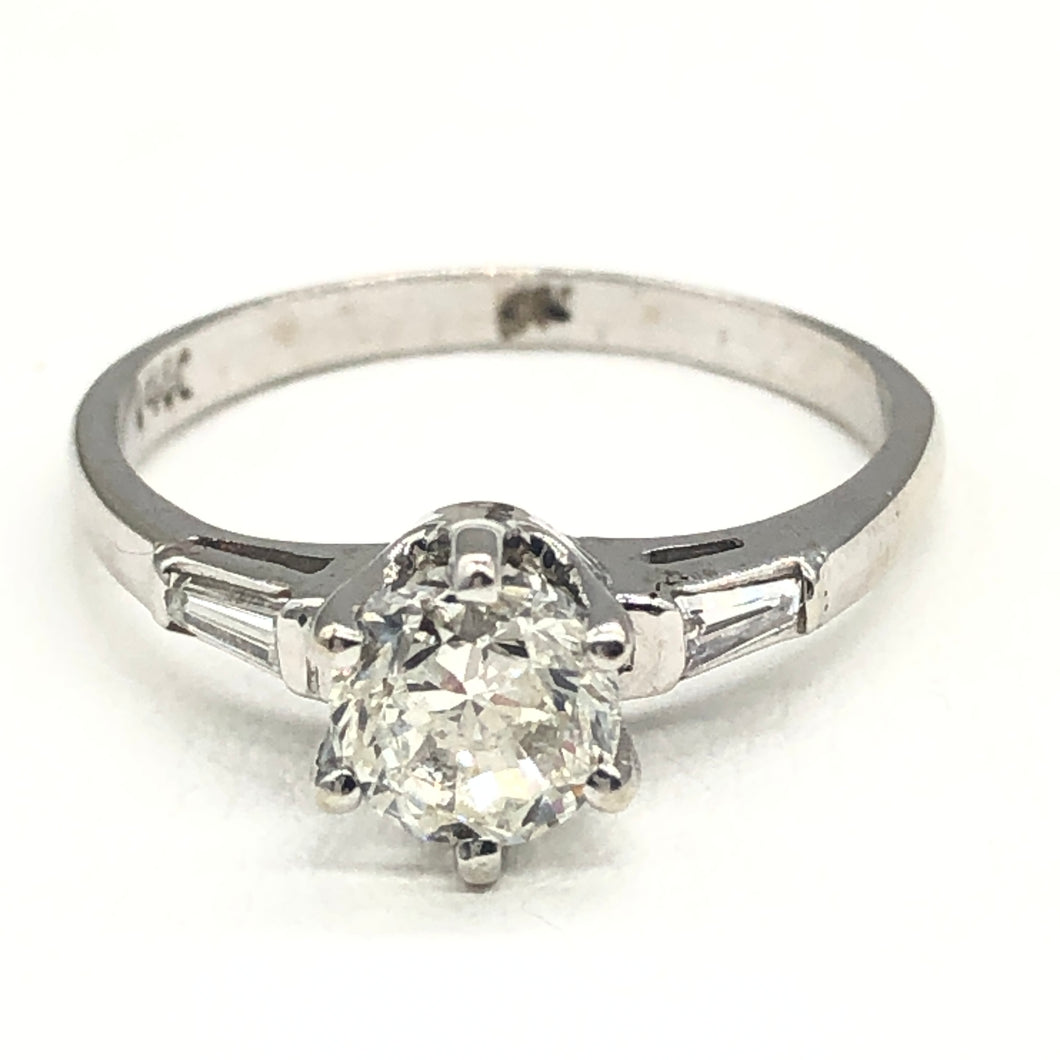 14kt Approx .75 SI1 G Diamond Engagement Ring