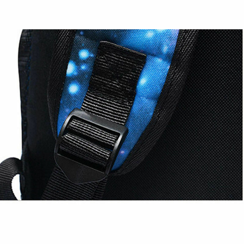 Galaxy Thunder Backpack Book Bag Teenagers Night Luminous Student School Bags - Market Libre
