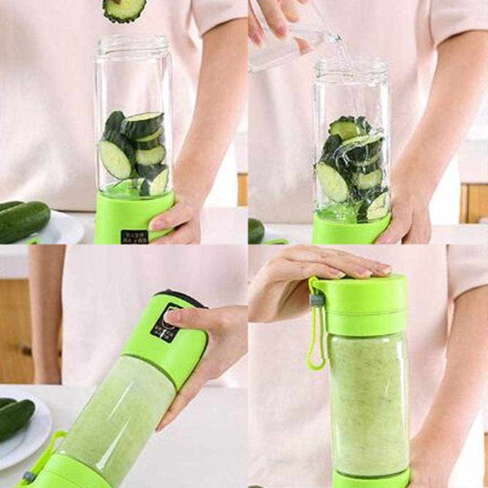 ¡Novedad! portable and USB rechargeable blender - Market Libre