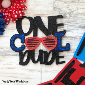 One Cool Dude Party Pack