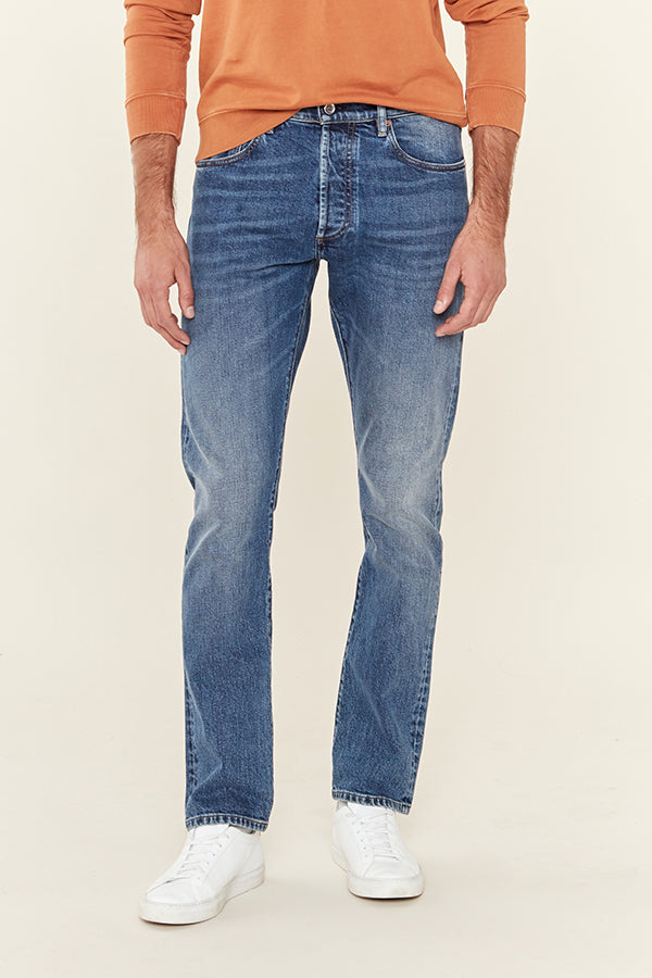 M7 TAPERED - WASHED BLUE