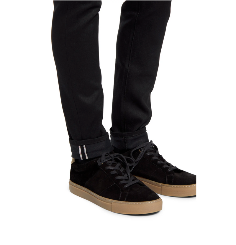 Modern Slim - Black Stretch Selvedge