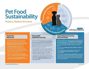 Sustainability in the pet food industry