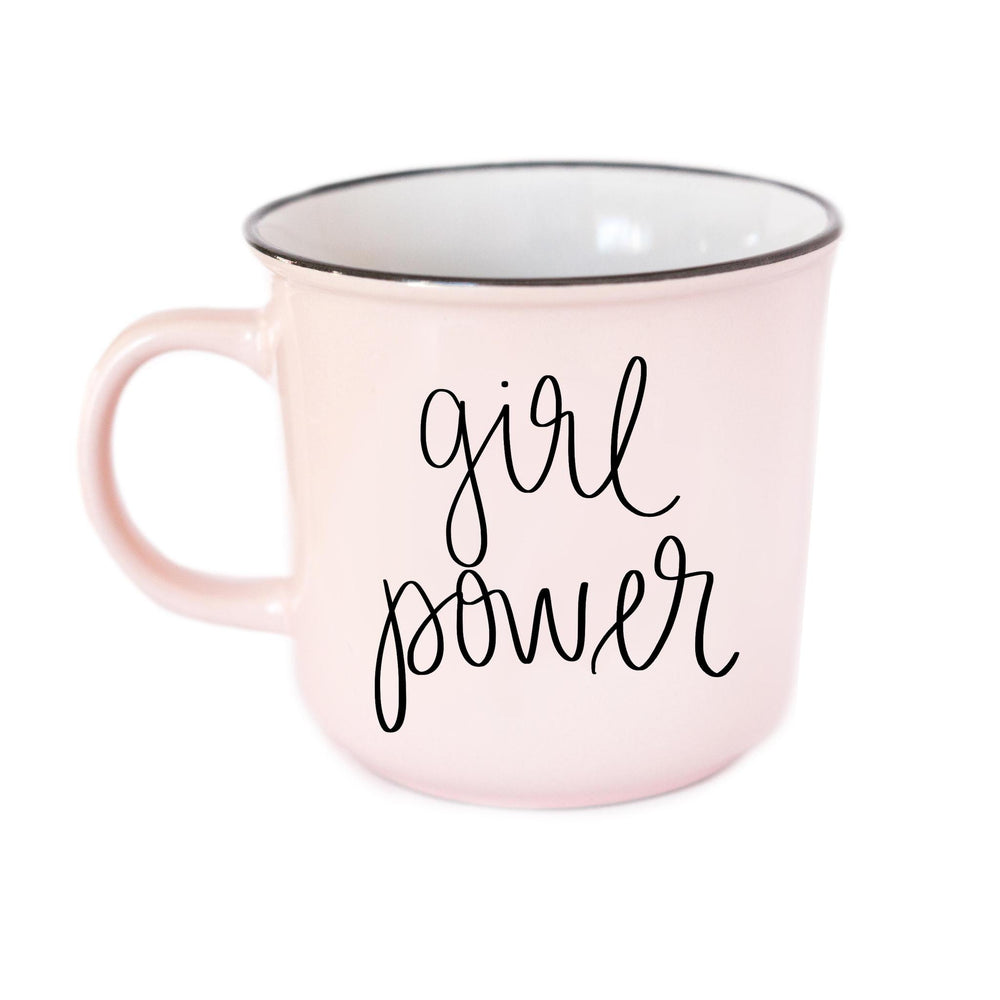 Girl Power Campfire Coffee Mug