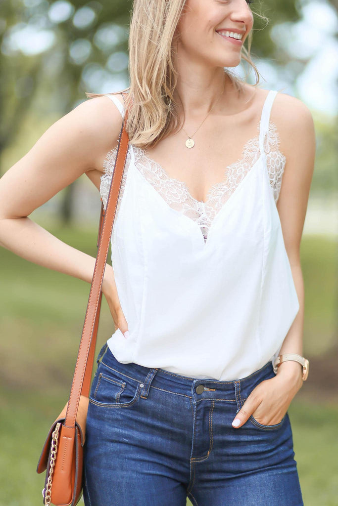 "Look at Her Lace Bralette Cami ""Inspired by Heather Sprague"""