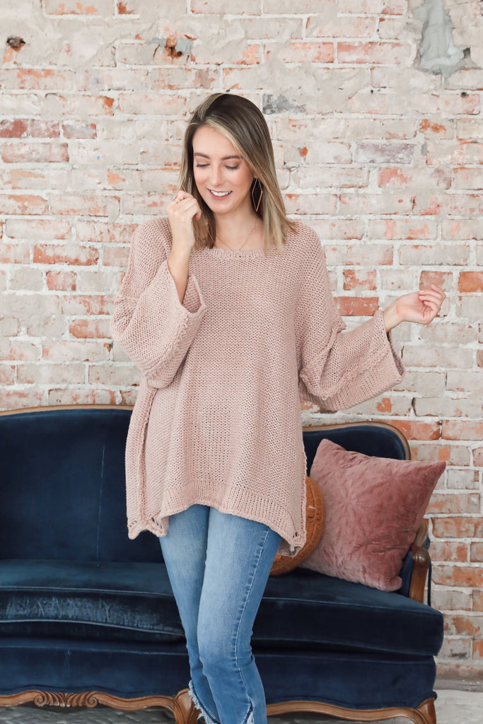 Alex Sweater - Mauve