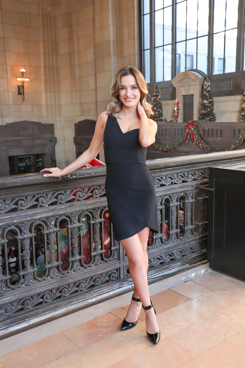 Babe Watch Black One Shoulder Bodycon Dress