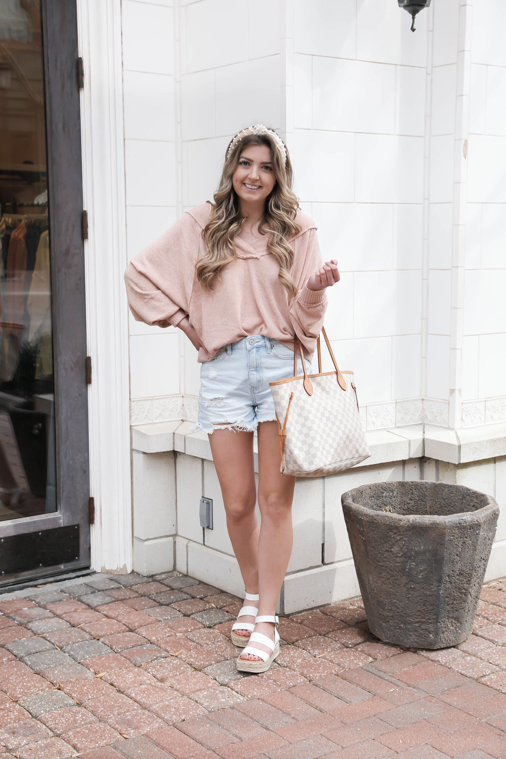 Blushing Off Shoulder Top