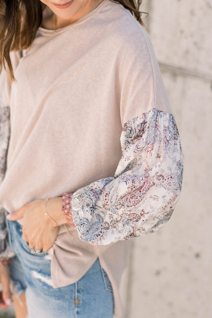 Boho Babe Paisley Top Inspired by Taylor Brown