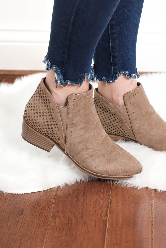 Closer to You Brown Booties