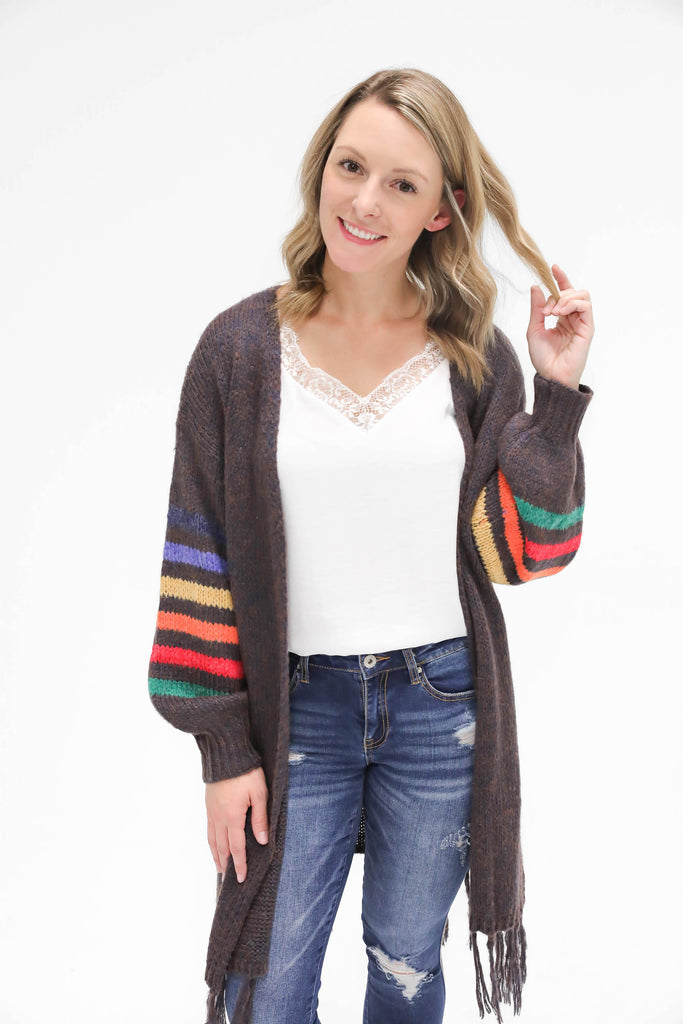 Colors Speak Louder than Words Cardigan
