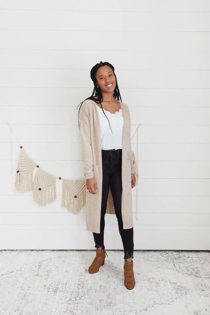 Courtney Duster - Tan