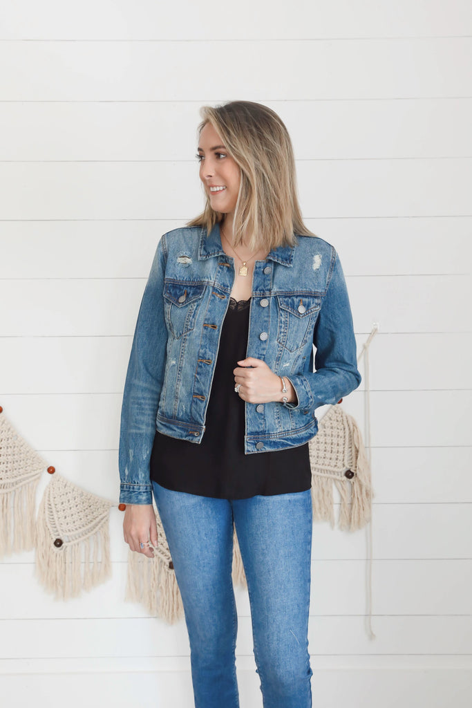 Deanna Dreamer Denim Jacket