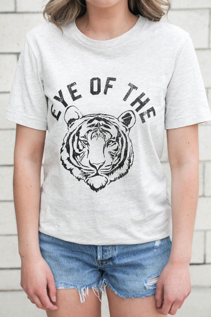 Eye of the Tiger Heathered T-Shirt
