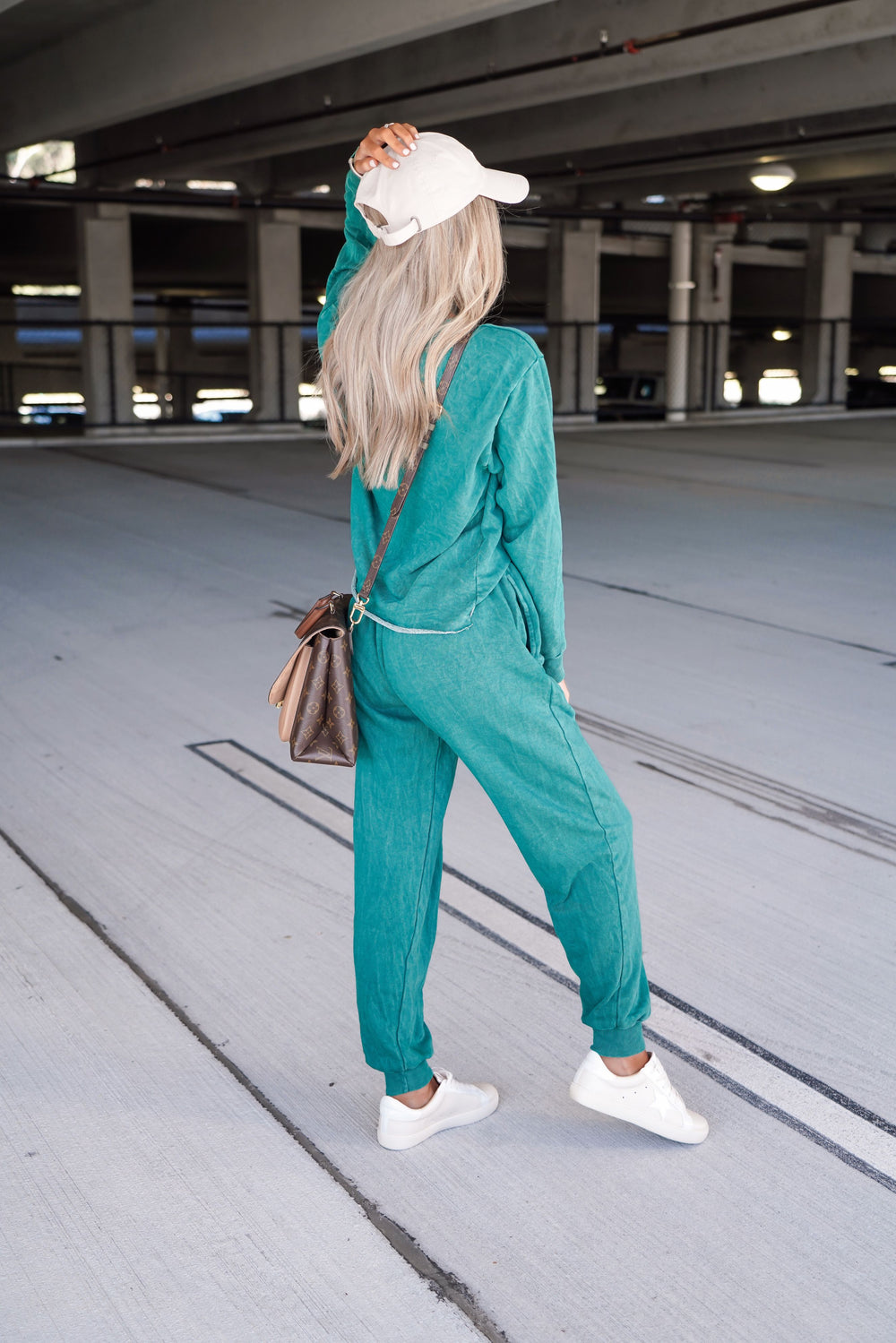 RESTOCK Fireside Vintage Joggers - Evergreen Inspired by Kristin Coffey Pressley