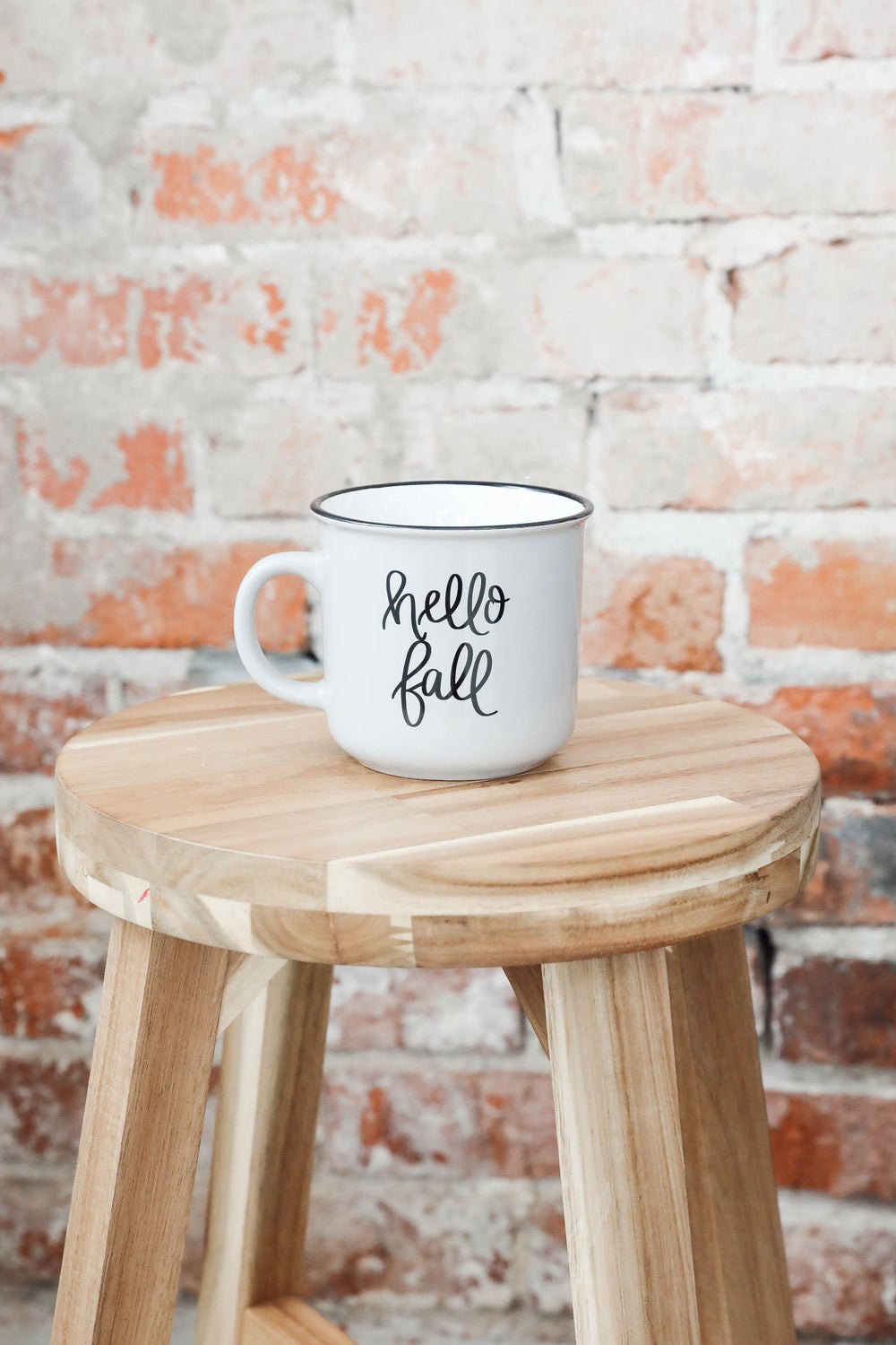 Hello Fall Campfire Coffee Mug