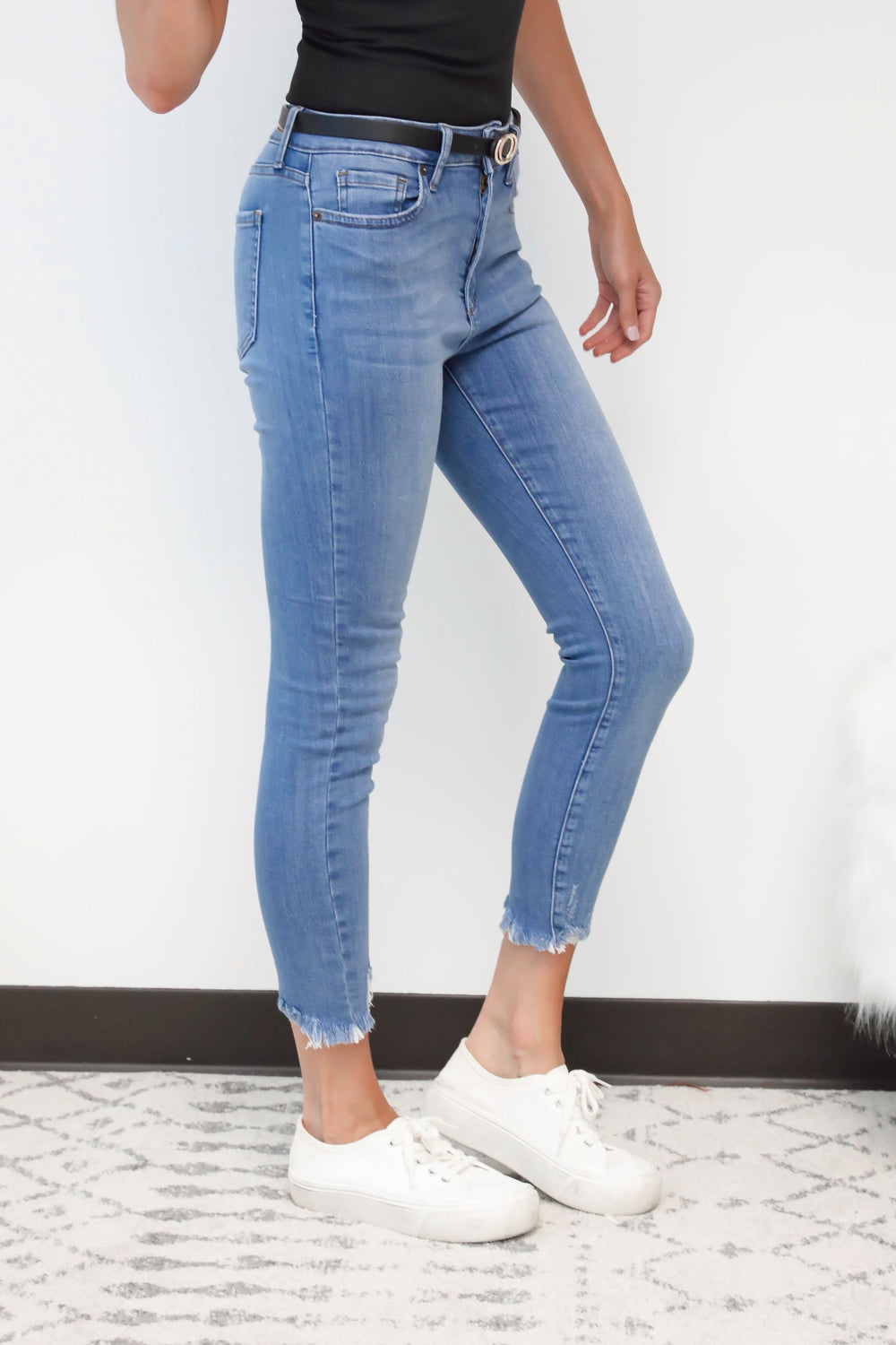 Kendall Medium Wash High Waisted Jeans