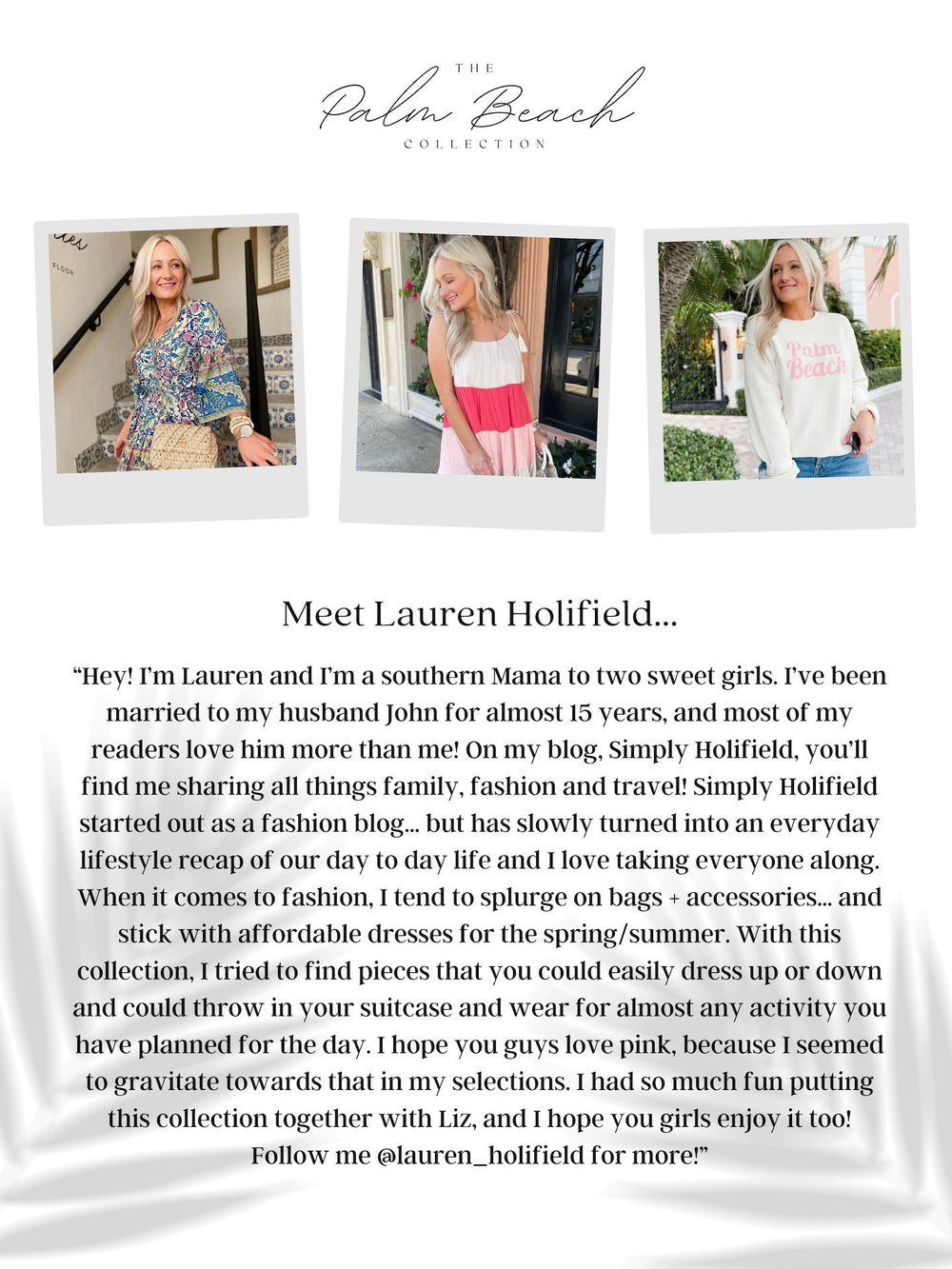 Can I Have Your Attention Dress Inspired by Lauren | The Palm Beach Collection