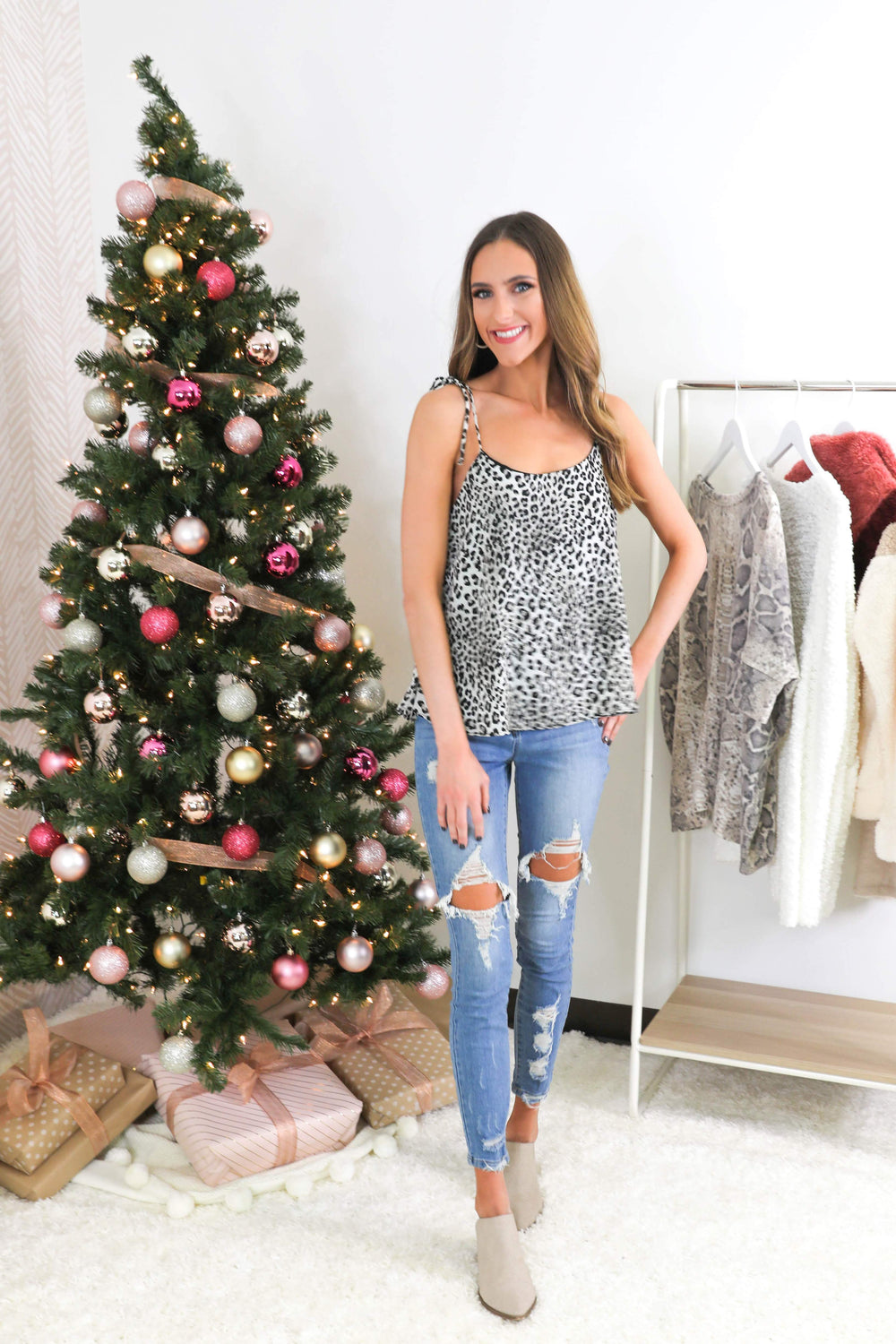 Little Moments Leopard Cami