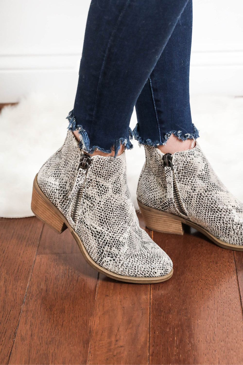 Live it Up Snake Booties