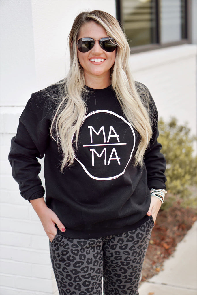 MAMA Sweatshirt Inspired by Liz from Lattes with Liz