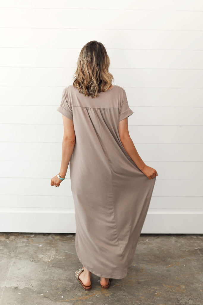Mushroom Maxi Dress Inspired by Shelby Ditch