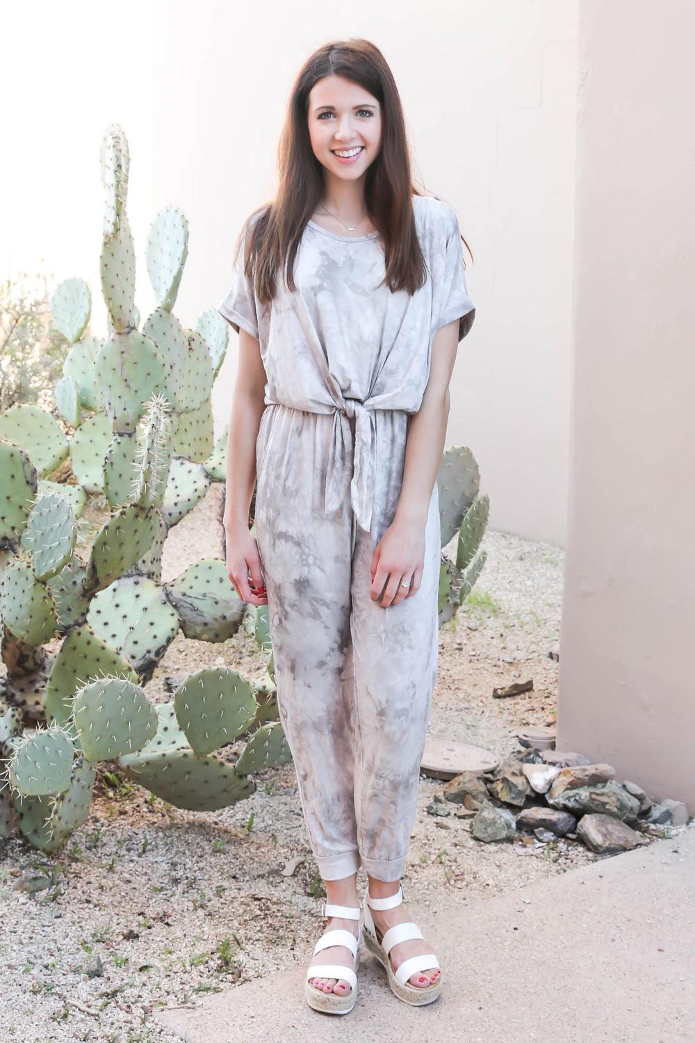 Ocean Breeze Tie Dye Jumpsuit