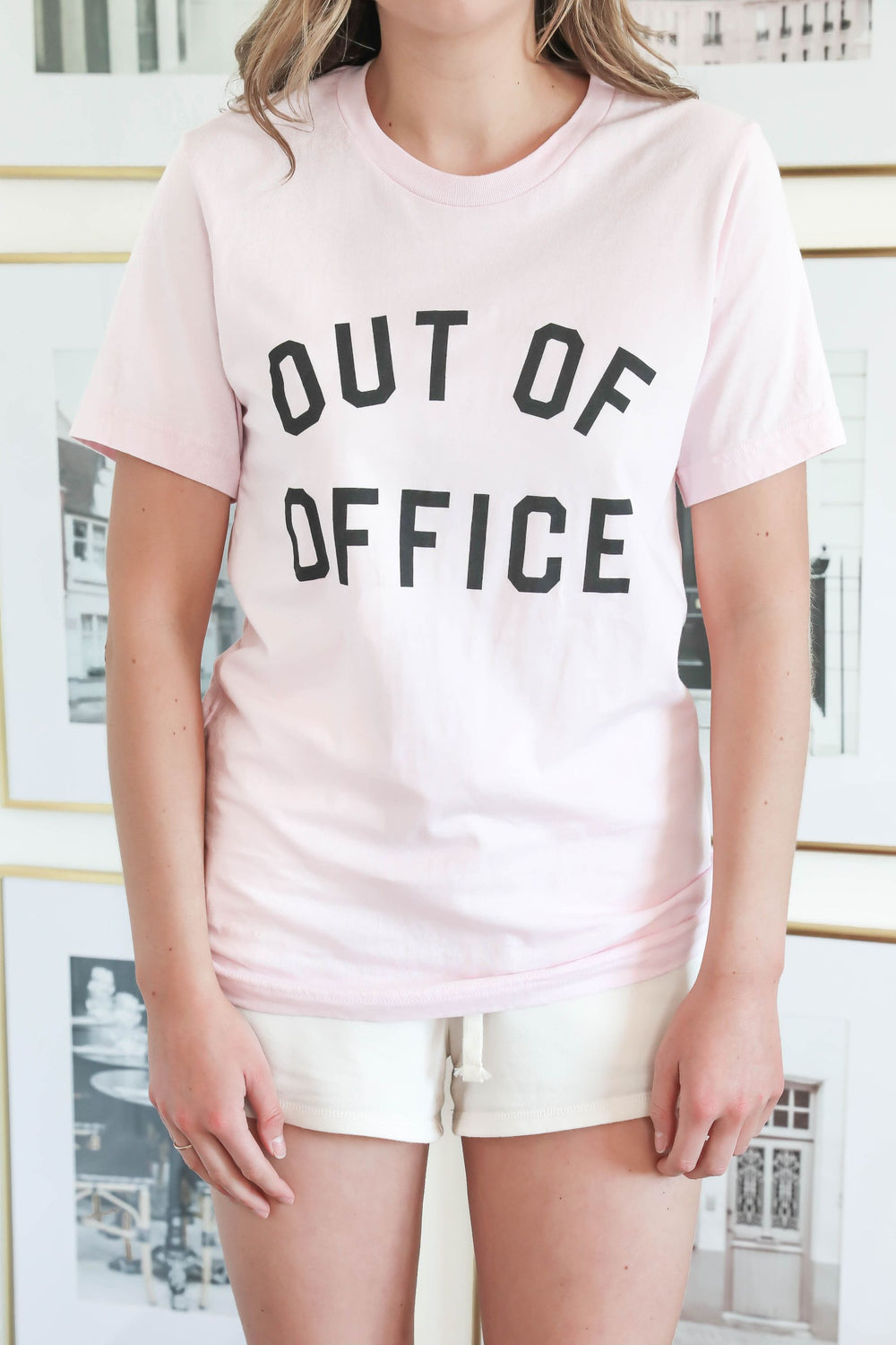 Out of Office Light Pink T-Shirt