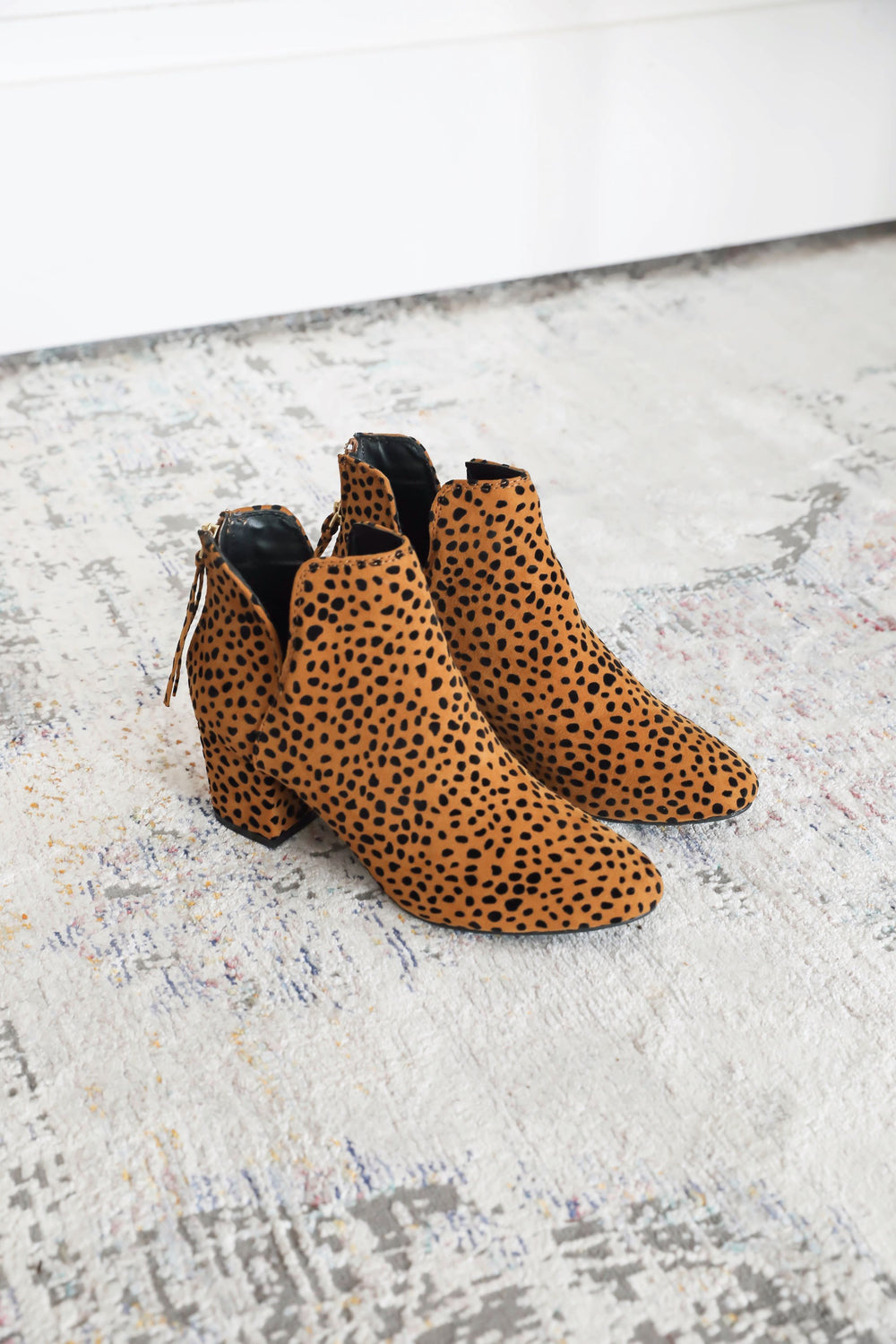 Party Animal Spotted Booties
