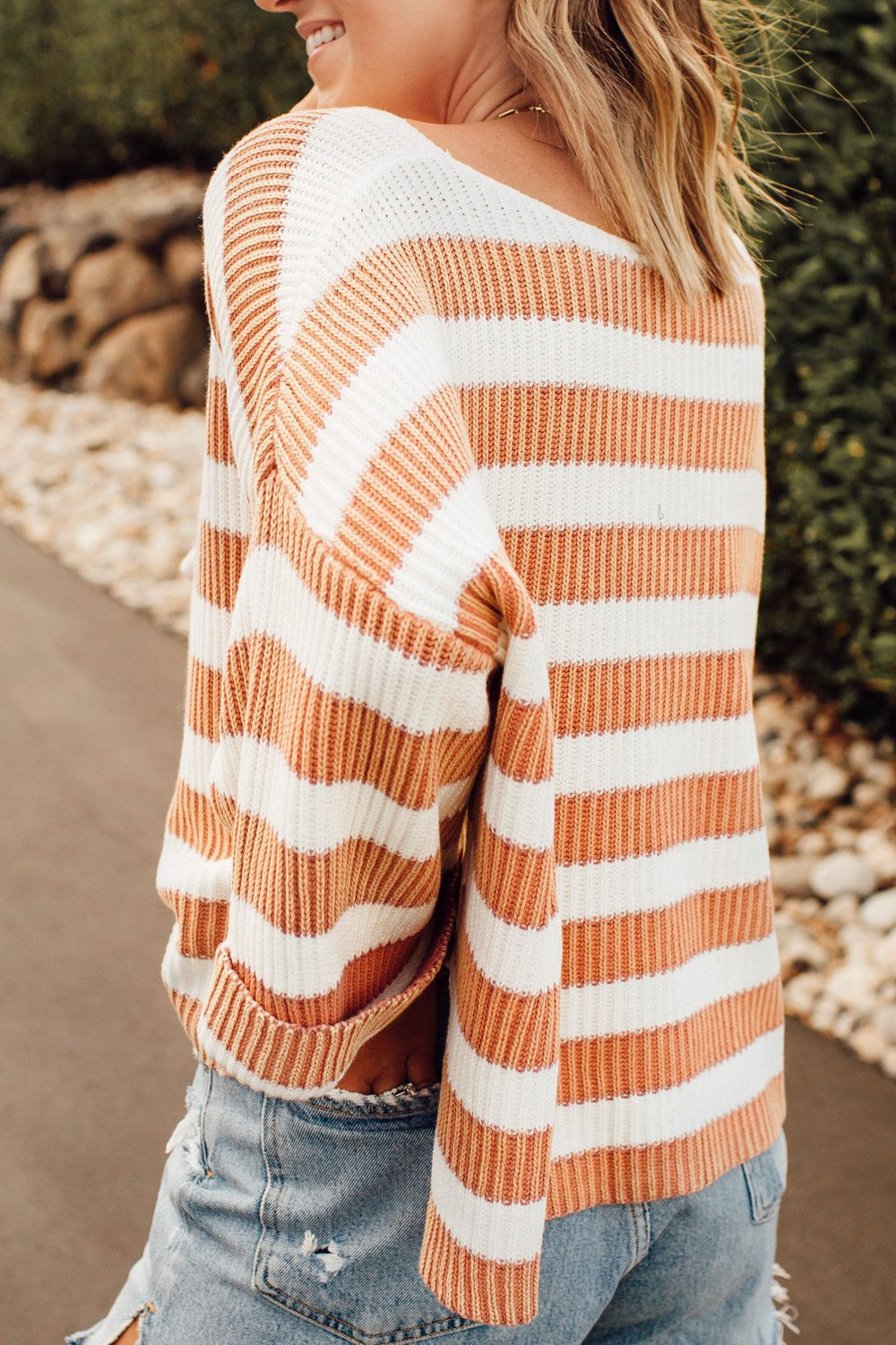 Peachy Mornings Sweater Inspired by Ashley from Twenties Girl Style