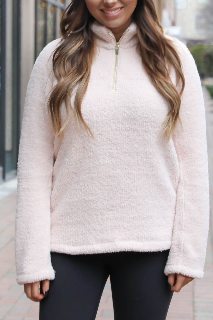 Pretty in Pink Thread & Supply Pullover
