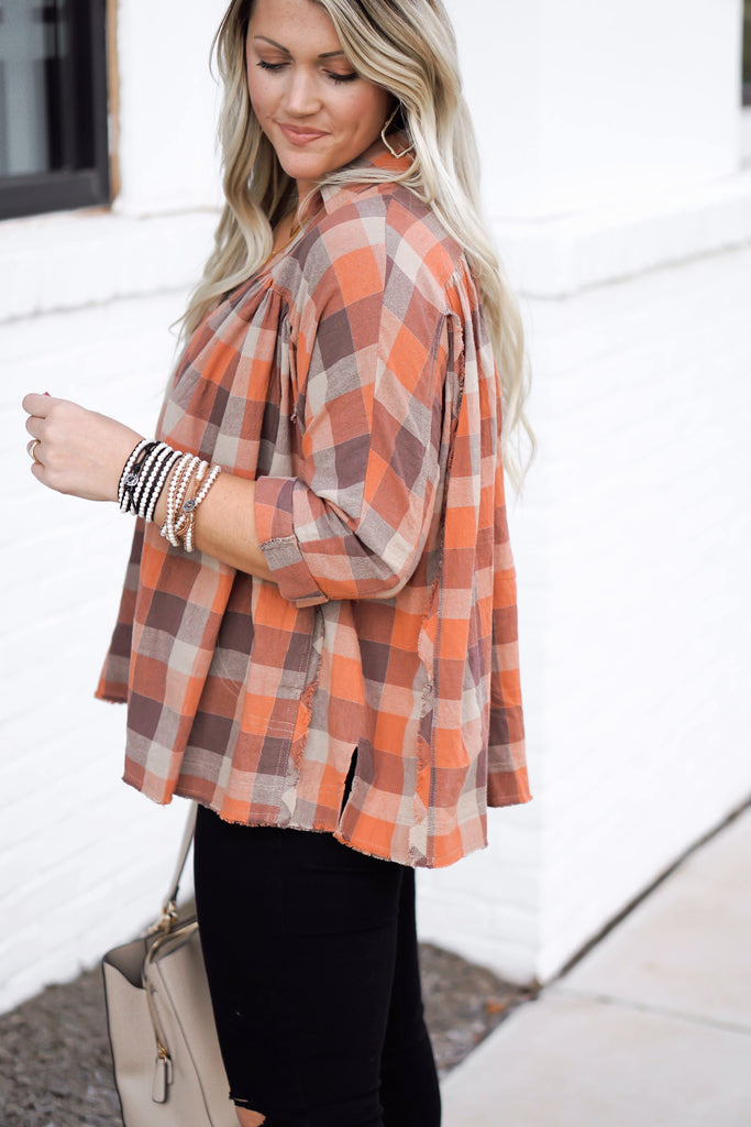 Pumpkin Patch Flannel Inspired by Liz from Lattes with Liz