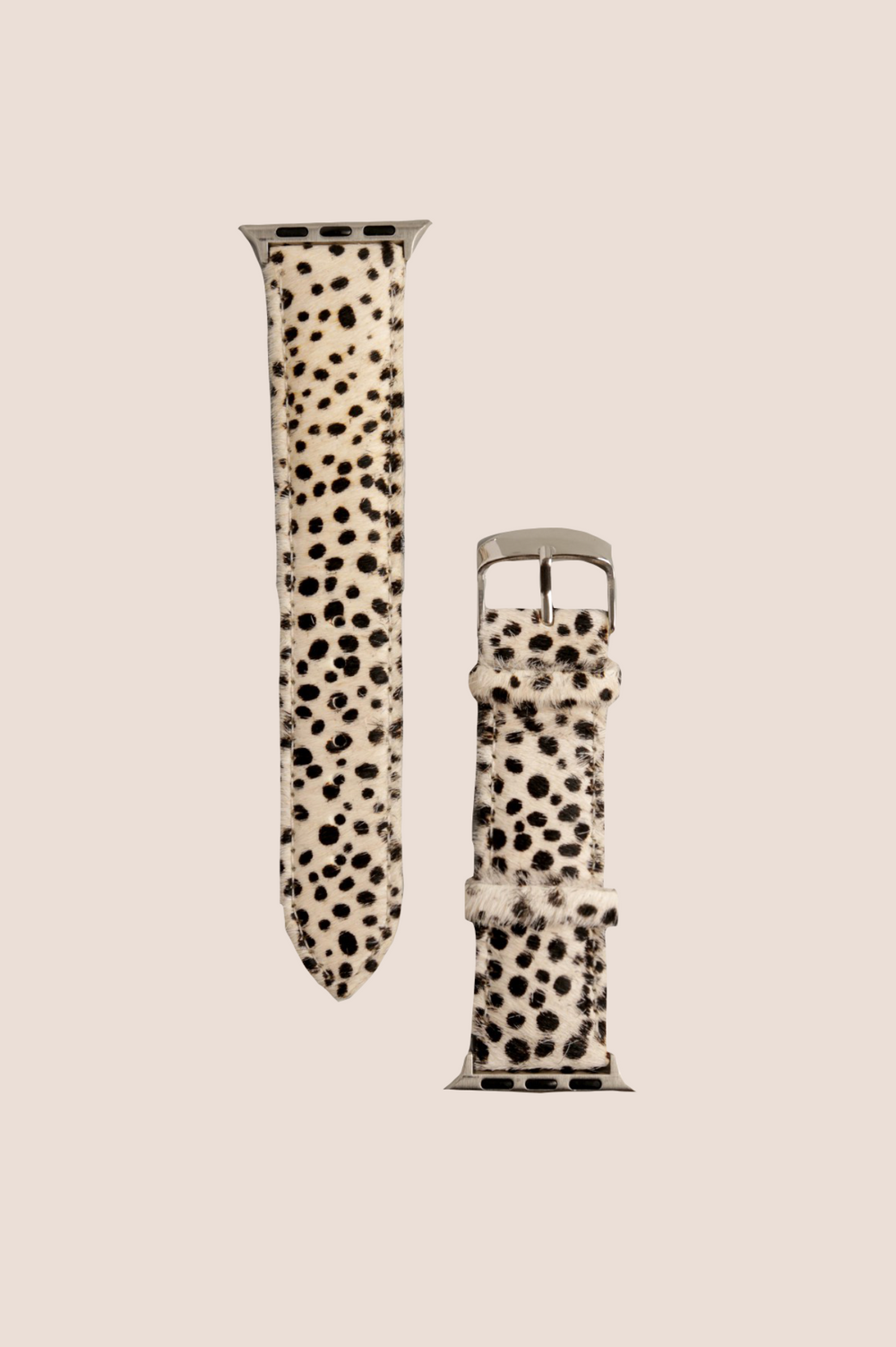 Spotted Leopard Faux Fur Apple Watch Band