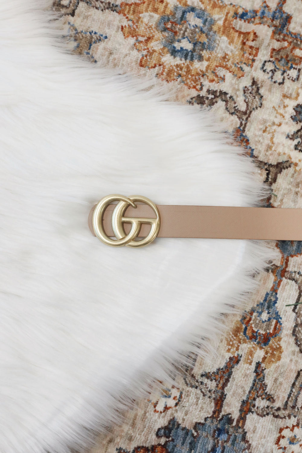 Taupe Glamour Belt