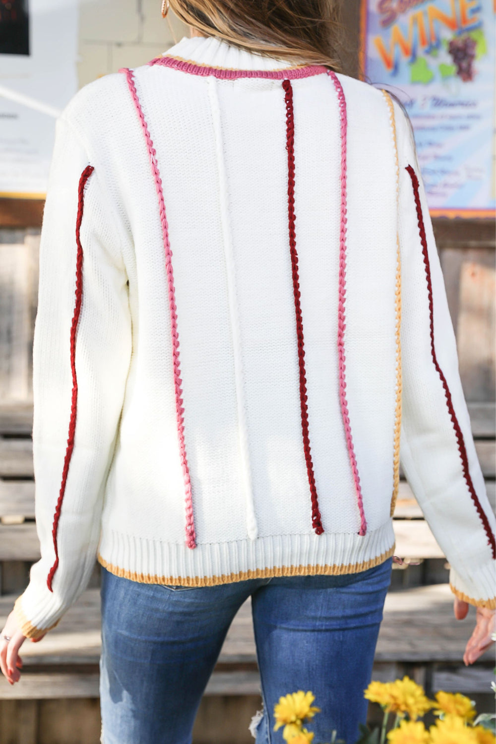 The Slice of Heaven Sweater Inspired by Pam Carper x Kendra Scott