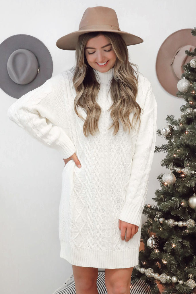 Timeless Classic Sweater Dress