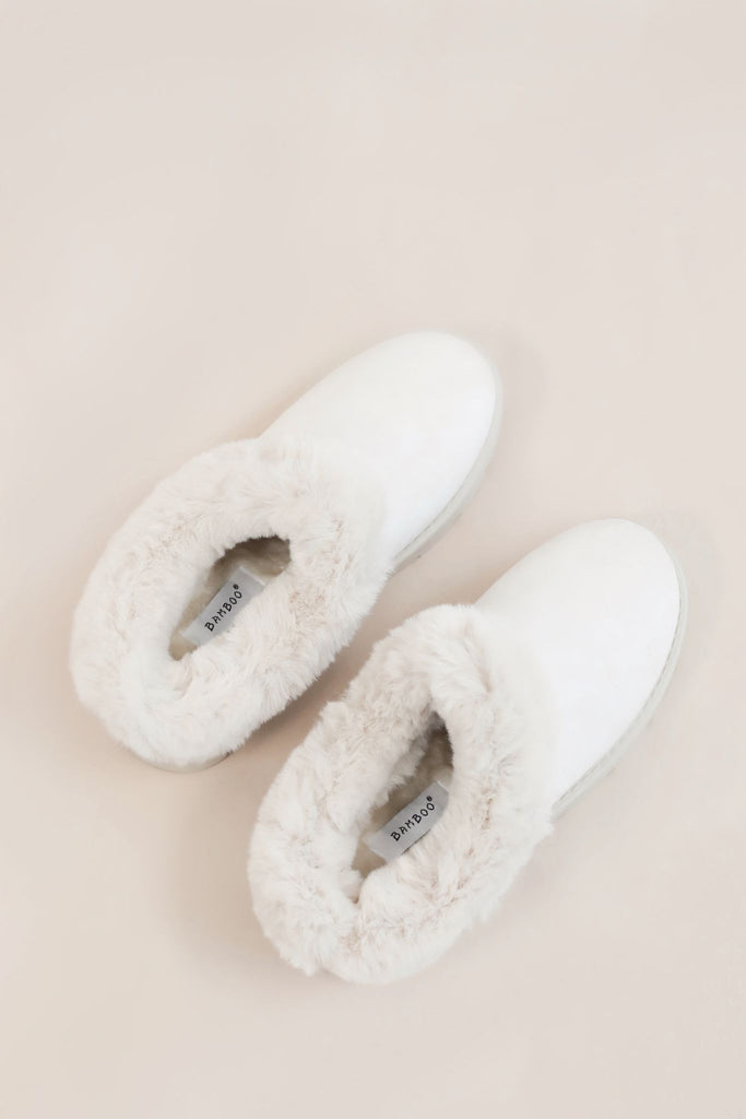 Toasty Toes Faux Fur Slippers