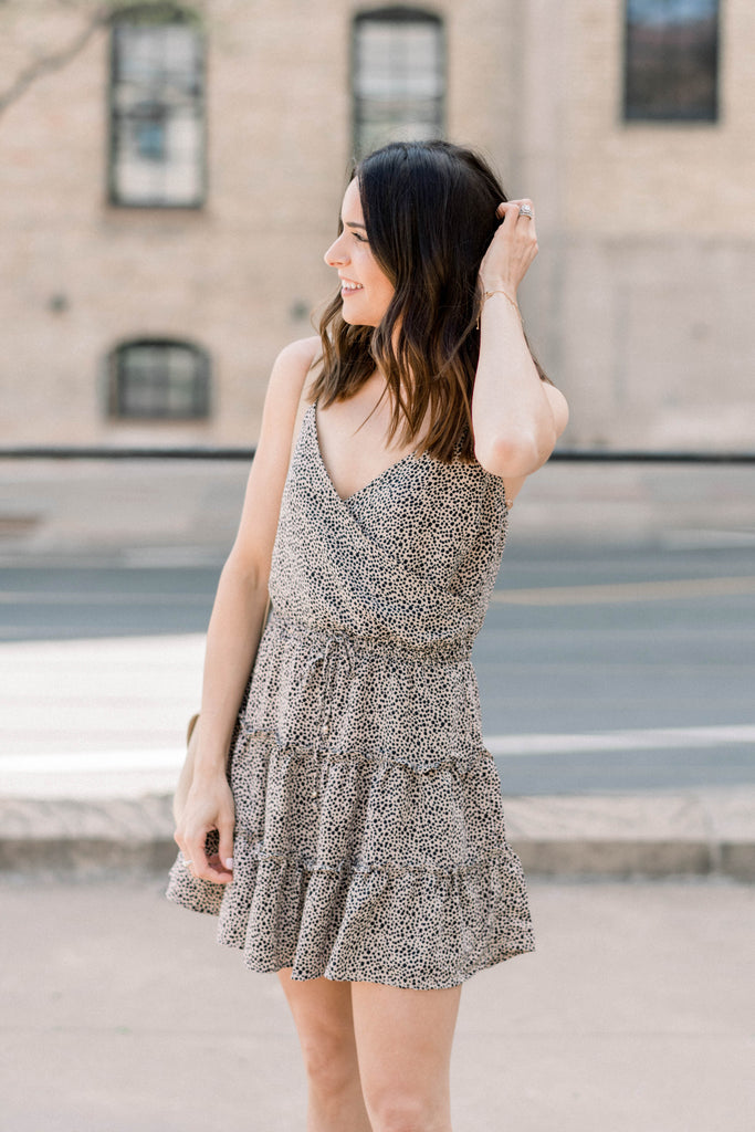Tried & True Tiered Spotted Dress Inspired by Taylor Brown