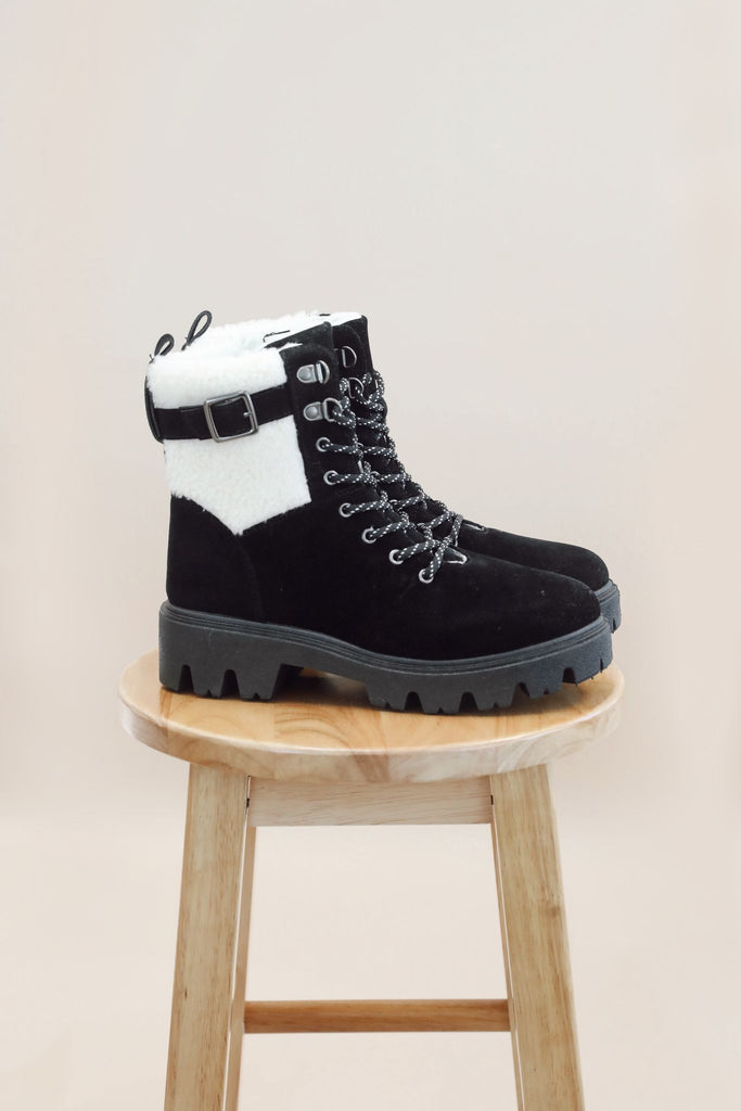 Winter Warrior Lace Up Boots