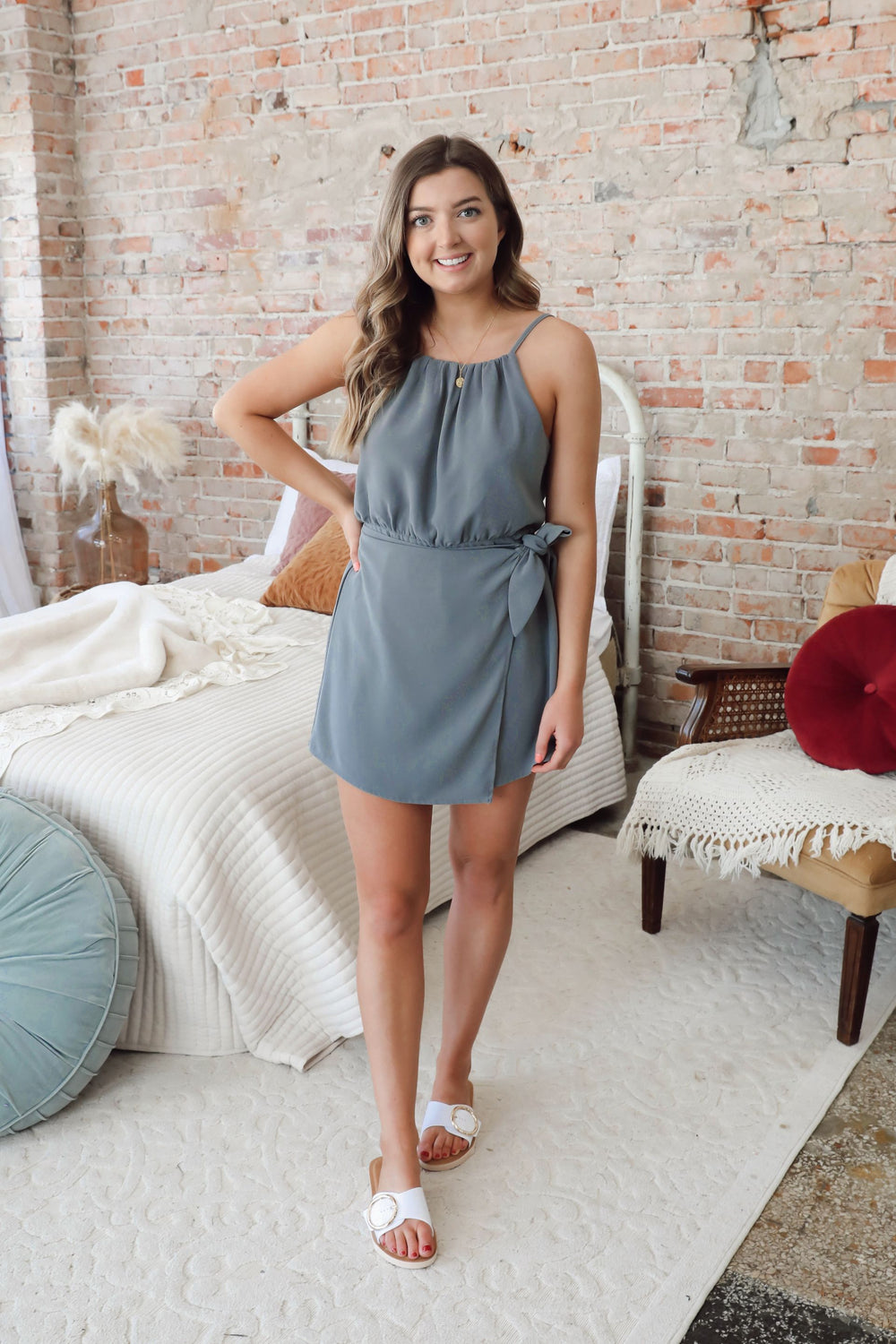 Zoe Wrapped Romper