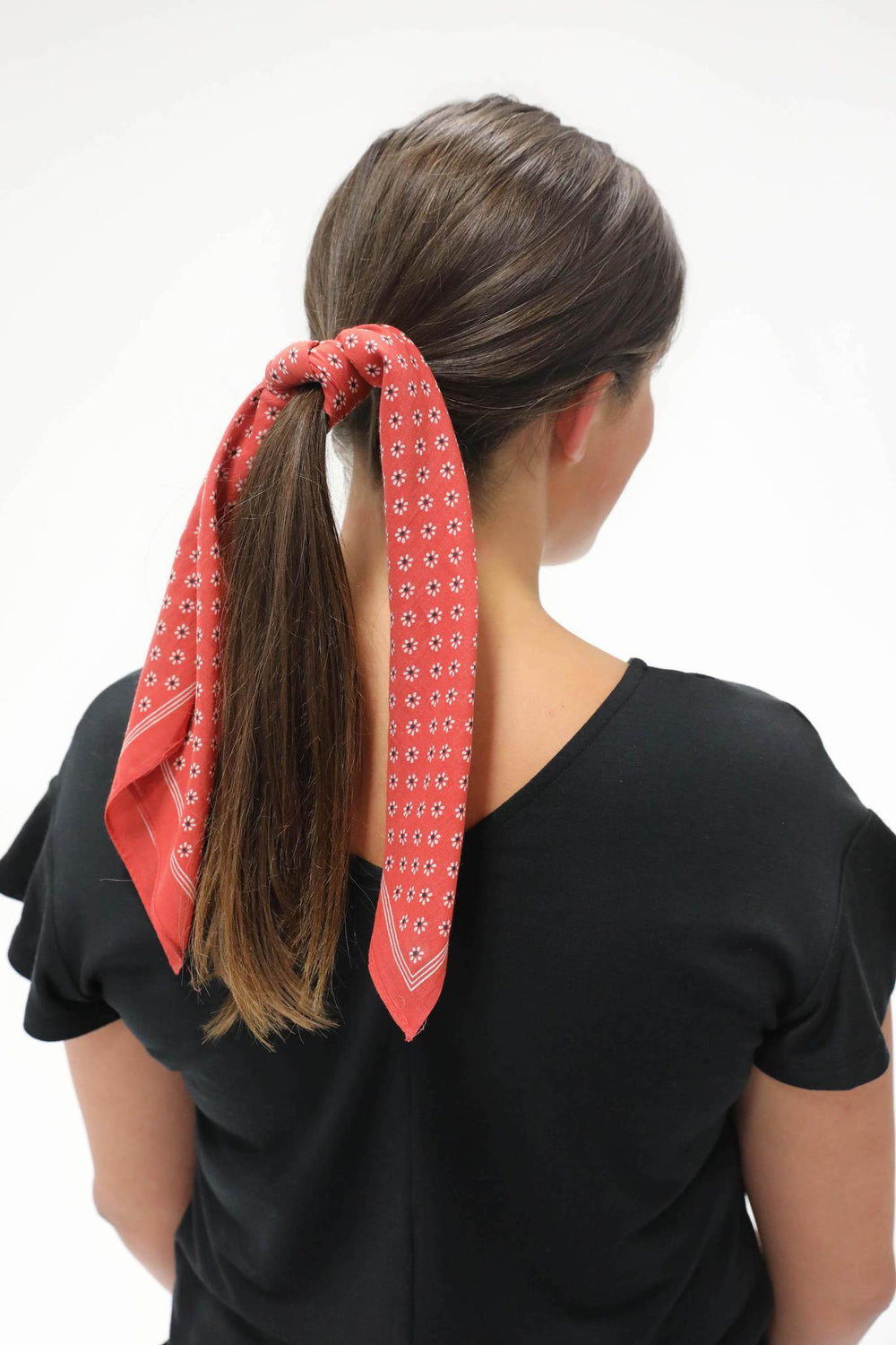 Happy With You Hair Scarf Red