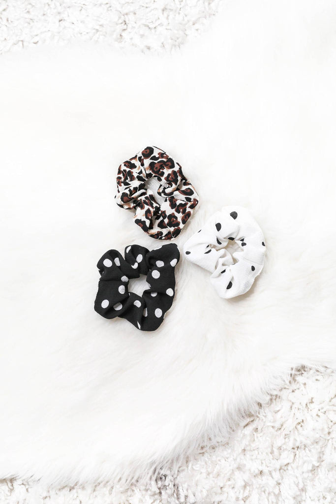 Show Me Your Spots Scrunchie Set of 3