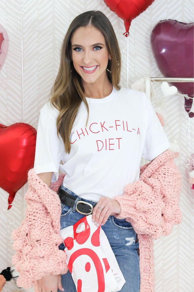 Chick-Fil-A Diet Graphic Tee