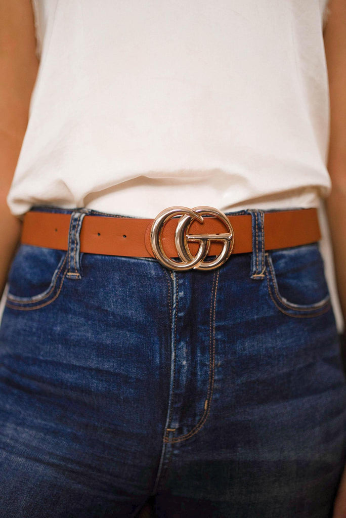 Brown Glamour Belt